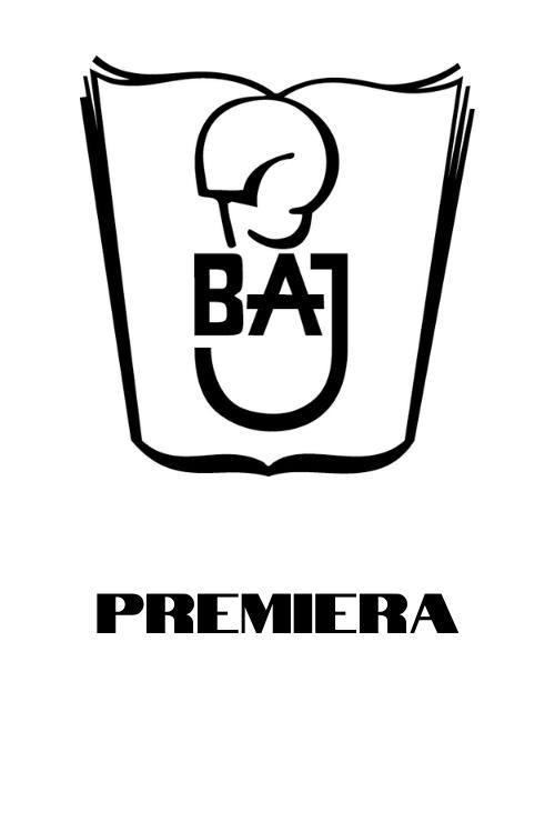 Logo Teatru Baj i napis Premiera
